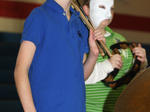 Middle School band Halloween concert